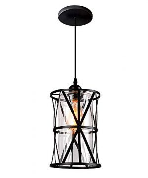 Hmvpl Pendant Lighting Fixtures Black