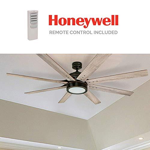 Honeywell Ceiling Fans 50609 01 Xerxes Ceiling Fan 62 Oil Rubbed Bronze 0 4