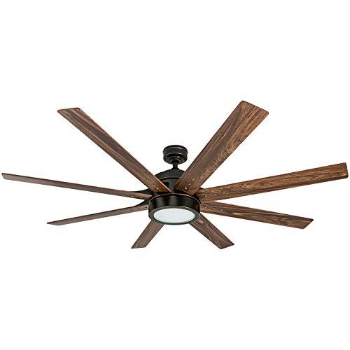 Honeywell Ceiling Fans 50609 01 Xerxes Ceiling Fan 62 Oil Rubbed Bronze 0