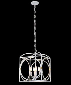 Horisun Vintage Industrial Lighting Kitchen Island Lighting Fixtures Farmhouse Pendant Hanging Light 4 Edison Lights 0 2 300x360