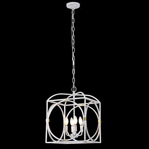 Horisun Vintage Industrial Lighting Kitchen Island Lighting Fixtures Farmhouse Pendant Hanging Light 4 Edison Lights 0 2