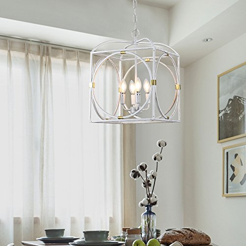 Horisun Vintage Industrial Lighting Kitchen Island Lighting Fixtures Farmhouse Pendant Hanging Light 4 Edison Lights Farmhouse Goals