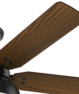 Hunter 59307 Mill Valley 52 Ceiling Fan With Light Large Matte Black 0 2 300x360