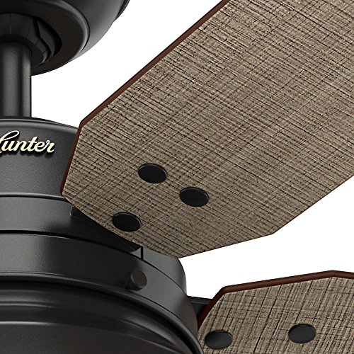 Hunter 59307 Mill Valley 52 Ceiling Fan With Light Large Matte Black 0 3