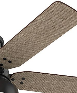 Hunter 59310 Mill Valley 52 Ceiling Fan With Light Large Matte Black 0 1 300x360