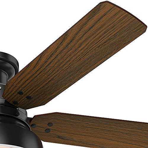 Hunter 59310 Mill Valley 52 Ceiling Fan With Light Large Matte Black 0 2