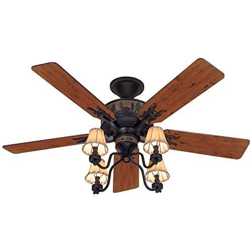 Hunter Adirondack 52 Ceiling Fan Model 59006 0