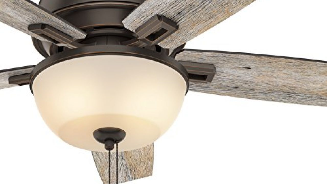 Low Profile Ceiling Fan In Onyx Bengal