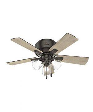 Hunter Fan Company 52153 Hunter 42 Crestfield Noble Bronze LED Light Ceiling Fan 0 300x360