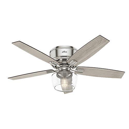 Hunter Fan Company 53394 Ceiling Fan Large Brushed Nickel 0 1