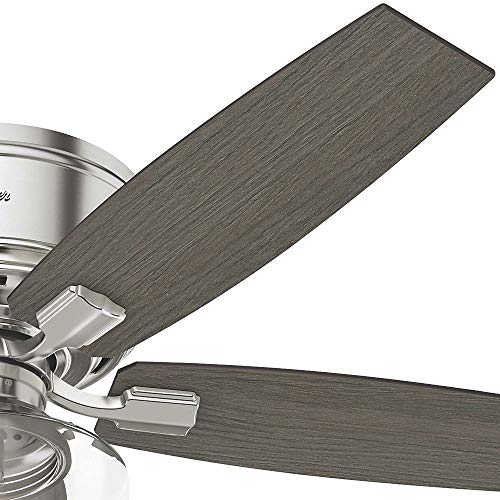 Hunter Fan Company 53394 Ceiling Fan Large Brushed Nickel 0 3