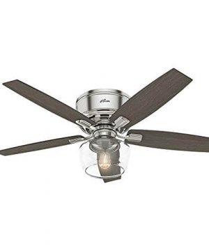 Hunter Fan Company 53394 Ceiling Fan Large Brushed Nickel 0 300x360