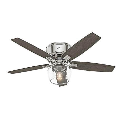 Hunter Fan Company 53394 Ceiling Fan Large Brushed Nickel 0