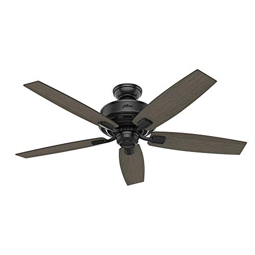 Hunter Fan Company 54187 Ceiling Fan Large Matte Black 0 0