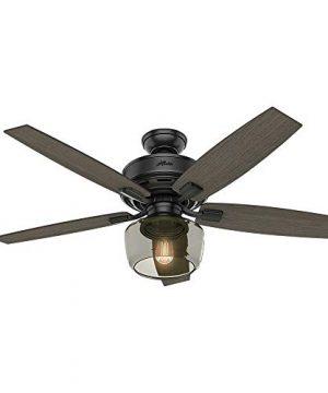 Hunter Fan Company 54187 Ceiling Fan Large Matte Black 0 300x360