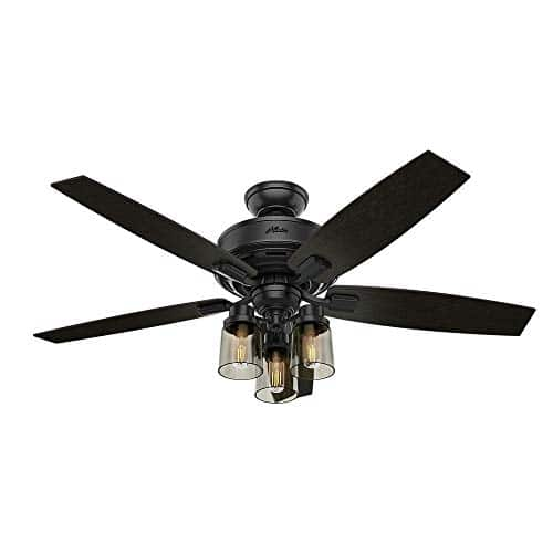 Hunter Fan Company 54189 Ceiling Fan Large Matte Black 0 0