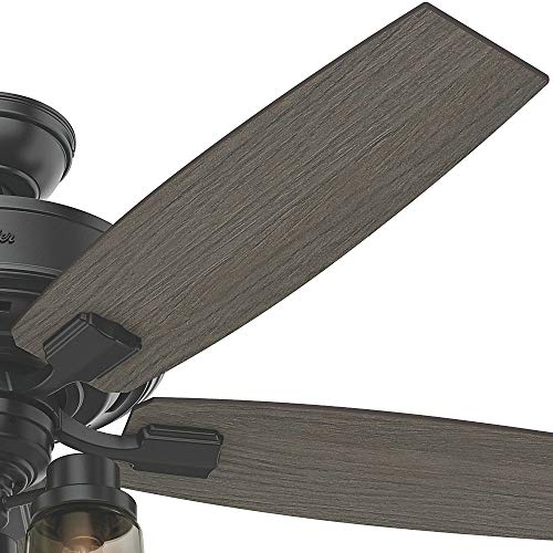 Hunter Fan Company 54189 Ceiling Fan Large Matte Black 0 1