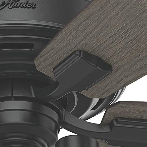 Hunter Fan Company 54189 Ceiling Fan Large Matte Black 0 3
