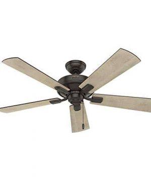 Hunter Fan Company 54205 Hunter 52 Crestfield Noble Bronze LED Light Ceiling Fan 0 0 300x360