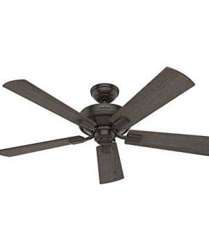 Hunter Fan Company 54205 Hunter 52 Crestfield Noble Bronze LED Light Ceiling Fan 0 2 300x360