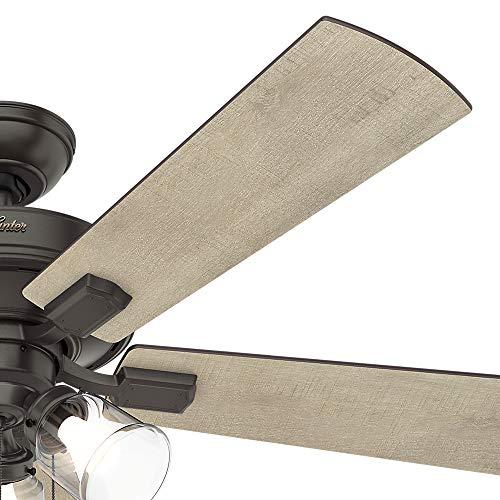 Hunter Fan Company 54205 Hunter 52 Crestfield Noble Bronze LED Light Ceiling Fan 0 3