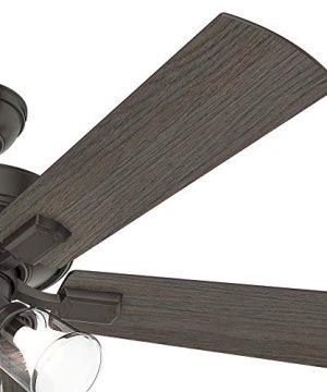 Hunter Fan Company 54205 Hunter 52 Crestfield Noble Bronze LED Light Ceiling Fan 0 4 300x360