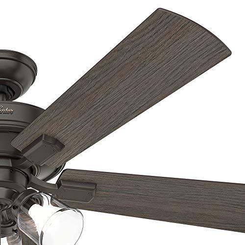 Hunter Fan Company 54205 Hunter 52 Crestfield Noble Bronze LED Light Ceiling Fan 0 4