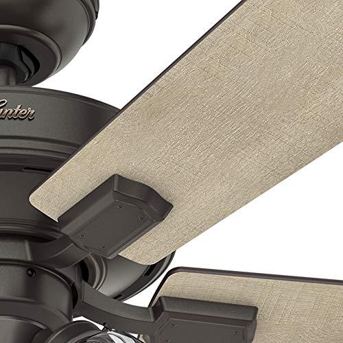 Hunter Fan Company 54205 Hunter 52 Crestfield Noble Bronze LED Light Ceiling Fan 0 5
