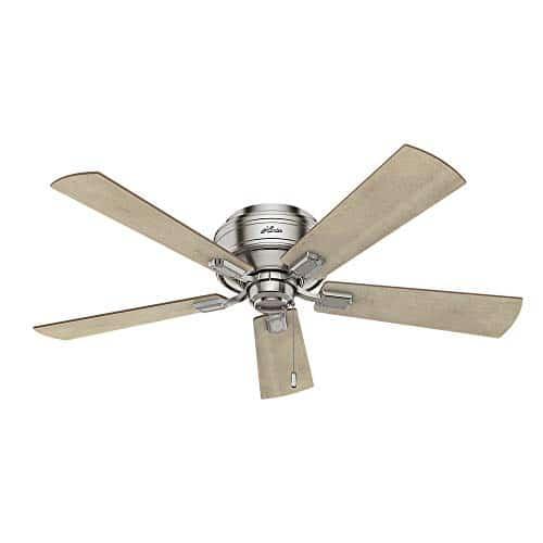 Hunter Fan Company 54209 Hunter 52 Crestfield Brushed Nickel LED Light Ceiling Fan 0 2
