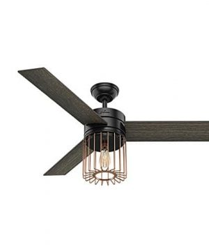 Hunter Fan Company 59239 Ceiling Fan Large Matte Black 0 0 300x360