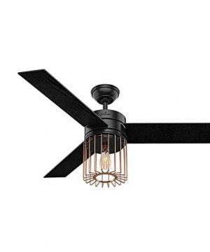 Hunter Fan Company 59239 Ceiling Fan Large Matte Black 0 300x360
