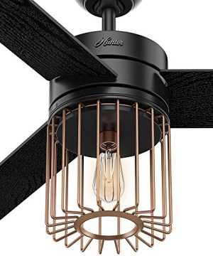 Hunter Fan Company 59239 Ceiling Fan Large Matte Black 0 4 300x360