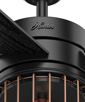 Hunter Fan Company 59239 Ceiling Fan Large Matte Black 0 5 300x360