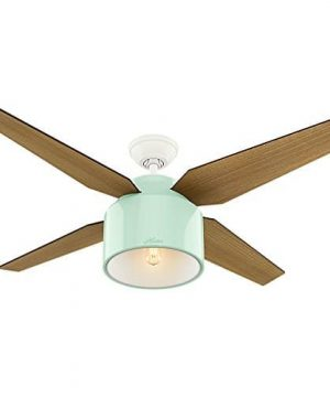 Hunter Fan Company 59258 Hunter 52 Cranbrook Mint Ceiling Fan With Light And Remote 0 0 300x360