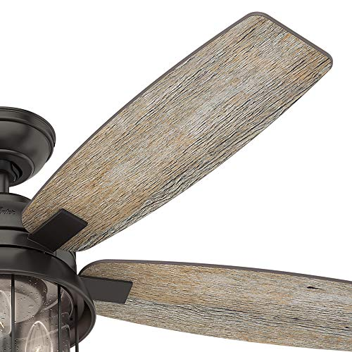 Hunter Fan Company 59420 Hunter 52 Coral Bay Noble Bronze LED Light And Handheld Remote Ceiling Fan 0 1