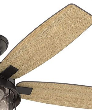 Hunter Fan Company 59420 Hunter 52 Coral Bay Noble Bronze LED Light And Handheld Remote Ceiling Fan 0 2 300x360