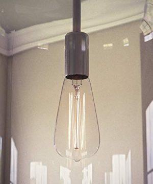 Kenroy Home 91830CLR Capri Pendant Light Clear Glass Chrome 0 2 300x360