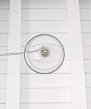 Kenroy Home 91830CLR Capri Pendant Light Clear Glass Chrome 0 5 300x360