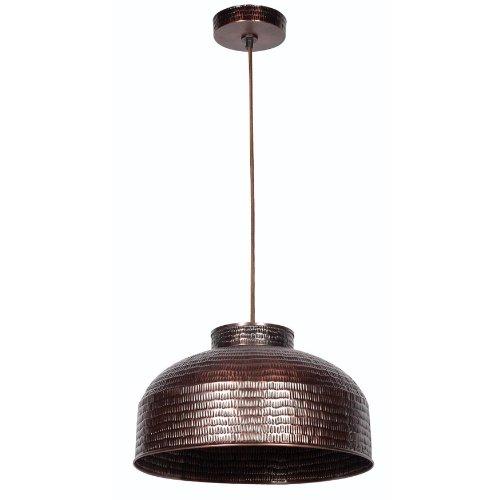 Kenroy Home 92092COP Detail Pendant Light Dark Copper Finish 0