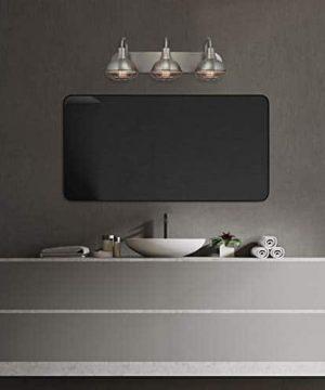 Kira Home Liberty 24 3 Light Modern Industrial VanityBathroom Light Brushed Nickel Finish 0 1 300x360