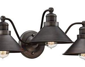 Kira Home Welton 255 Modern Industrial 3 Light VanityBathroom Light Brushed Dark Industrial Bronze Finish 0 0 300x238