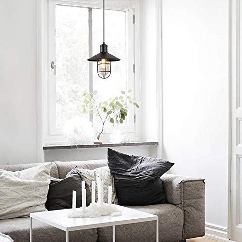 LNC Pendant Lighting For Kitchen Island Black Ceiling Hanging Lamp A01910 0 1