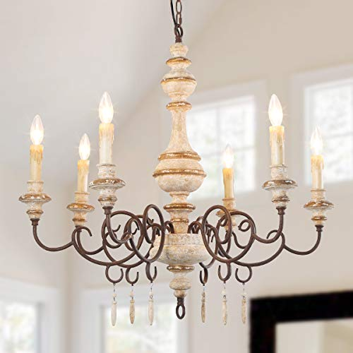 Light French Country Lighting, Country Style Chandelier