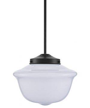 Lavagna Vintage Pendant Light Fixture Black Milk Glass Pendant Lighting For Kitchen Island LL P272 MILK BLK 0 300x360
