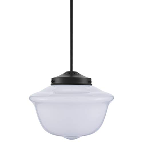 Lavagna Vintage Pendant Light Fixture Black Milk Gl Lighting For Kitchen Island Ll P272 Blk