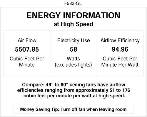 Minka Aire F582 GL Rainman 54 Ceiling Fan Galvanized 0 2