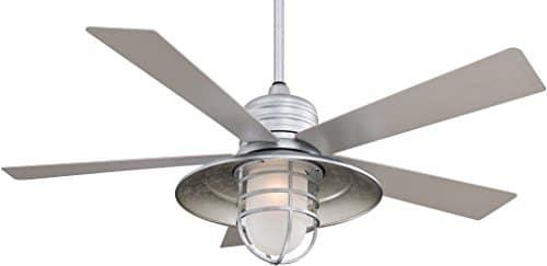 Minka Aire F582 GL Rainman 54 Ceiling Fan Galvanized 0