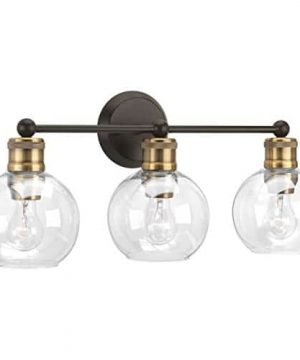 Progress Lighting P300051 020 Hansford Antique Bronze Three Light Bath Vanity 0 300x360