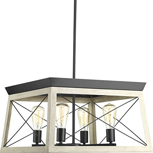 Progress-Lighting-P400047-143-Briarwood-Graphite-Four-Light-Chandelier-0