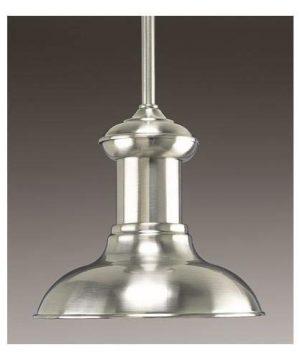 Progress Lighting P5023 09 1 Light Mini Pendant Brushed Nickel 0 2 300x360